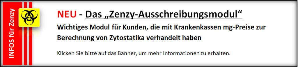 Das Zenzy-Ausschreibungsmodul